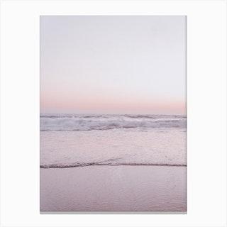 Pastel Beach III Canvas Print