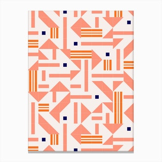 Random Tiles Canvas Print
