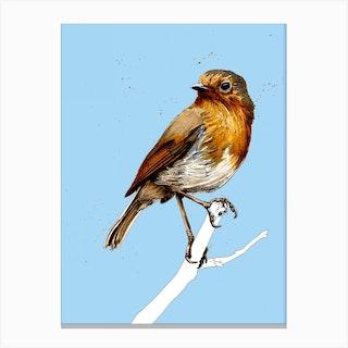 The Robin Canvas Print