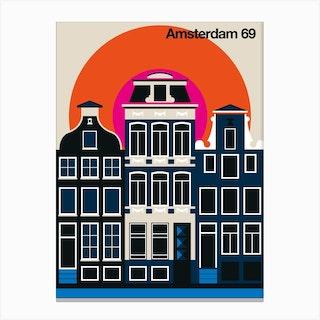 Amsterdam 69 Canvas Print