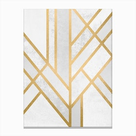 Art Deco Geometry II in Canvas Print