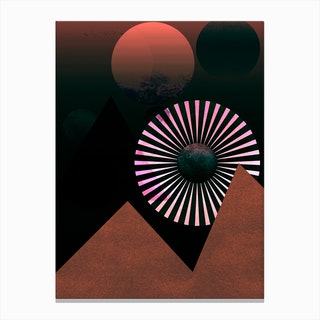 Moontainside Canvas Print
