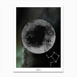 Zodiac Libra Canvas Print