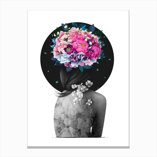 Infinity Of Bloom Canvas Print