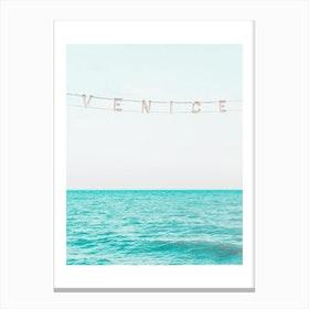 Venice Beach Sea View I Canvas Print