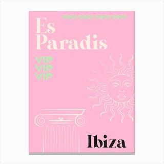 Paradis Canvas Print