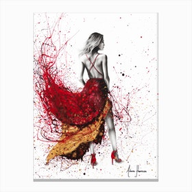Chardonnay Nights Canvas Print
