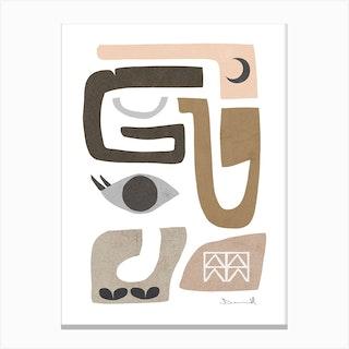 Finna Canvas Print
