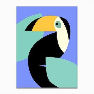 Quiet Toucan Canvas Print