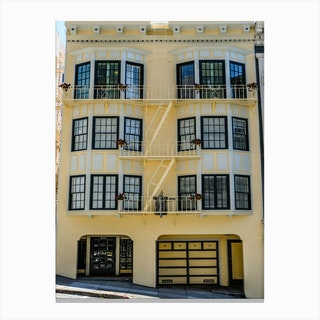 Yellow Home Canvas Print