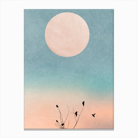 Waking Up Warm Canvas Print