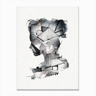 Introscpective Canvas Print