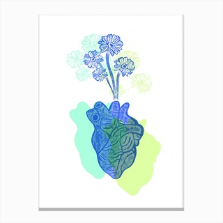 Love Bloom Canvas Print