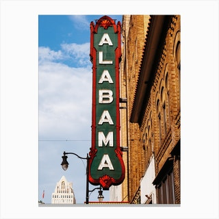 Alabama Marquee II Canvas Print