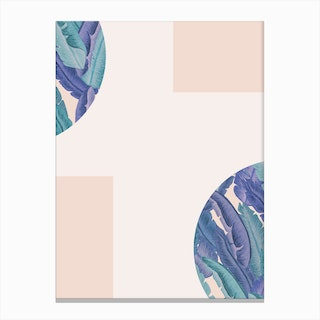 Mid Century Candy Tropical Pt 02 Jpg Canvas Print