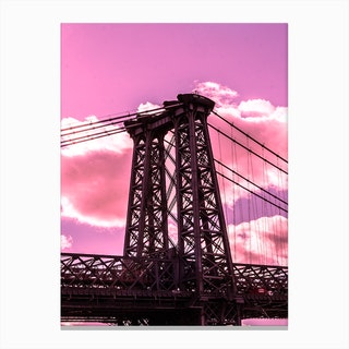 Williamsburg Bridge Canvas Print