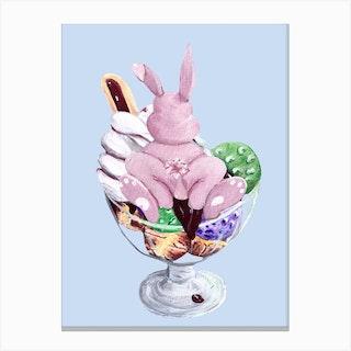 Sweet Easter Profiterol Canvas Print