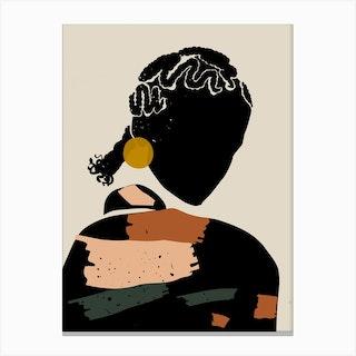 Cornrows Canvas Print