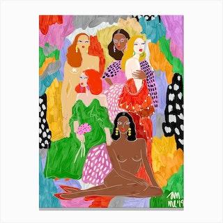 Female World Canvas Print