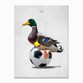 Fowl Canvas Print