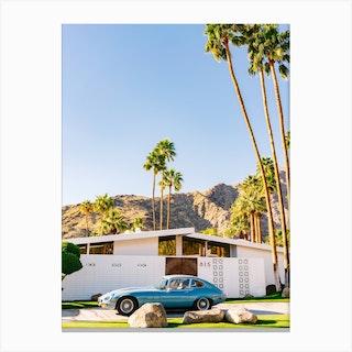 Palm Springs Ride VII Canvas Print