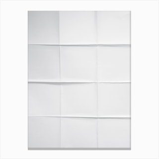 Paper Grid Canvas Print