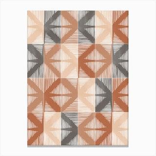 Mudcloth Tiles 01 Canvas Print