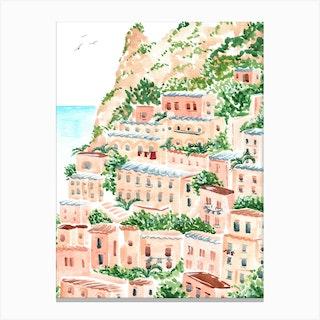 Italian Shore Canvas Print