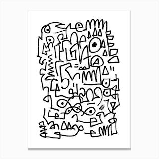 Sqwig Canvas Print
