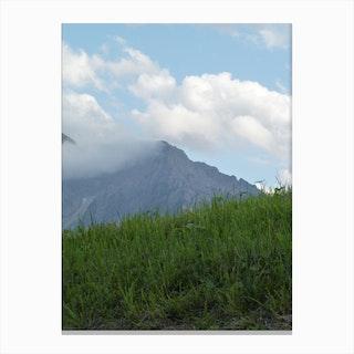 Mountain View 50 Canvas Print