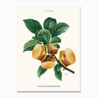 Burger Plant Canvas Print