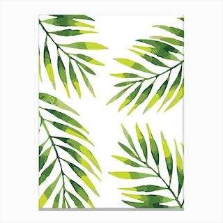 Palms Pattern Canvas Print