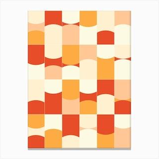 Vivid Tiles 02 Canvas Print