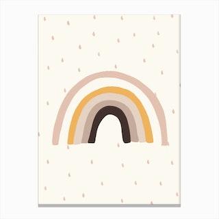 Rainbow Nursery Print Canvas Print