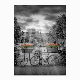 Typical Amsterdam Canvas Print