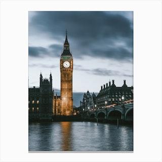 London Uk V Canvas Print