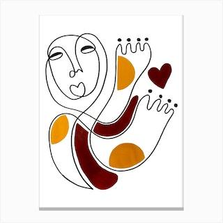 Self Love 2 Canvas Print