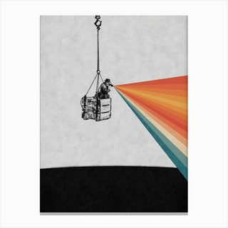 Looking For The Right Angle Canvas Print