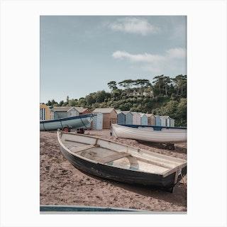 Teignmouth Beach Canvas Print