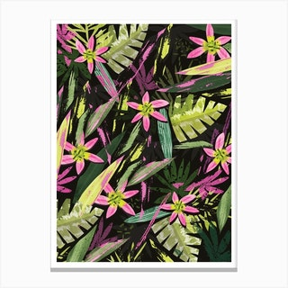 Tropical Pop Canvas Print