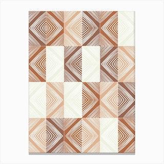 Mudcloth Tiles 02 Canvas Print