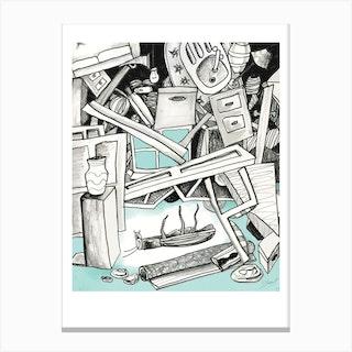 Metamorphasis Canvas Print