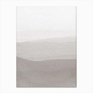 Subtle Layers Canvas Print