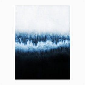 Forest Of Frost Canvas Print