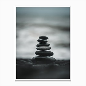 Pebbles Print Canvas Print