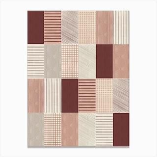 Rustic Tiles 03 Canvas Print