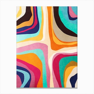 Psychedelic Pattern 1 Canvas Print