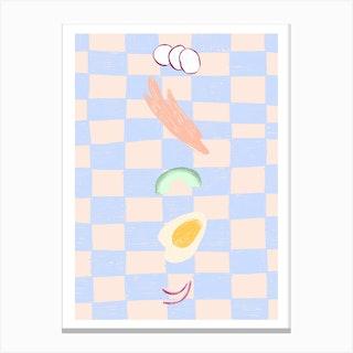 Tasty Bits Canvas Print