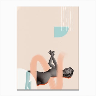 She Her Canvas Print