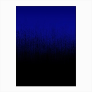 Cerulean Ombré Canvas Print